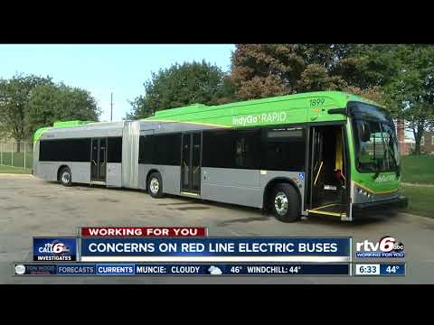 Growing concerns over IndyGo's Red Line electric buses