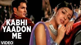 Kabhi Yaadon Me Aau Video Song Abhijeet Super Hit Hindi Album Tere Bina Feat. Divya Khosla Kumar