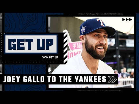 Joey Gallo 'checks so many boxes' for the Yankees - Buster Olney reacts to New York's trade | Get Up