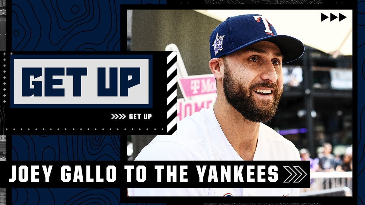 Joey Gallo 'checks so many boxes' for the Yankees - Buster Olney reacts to New York's trade   Get Up