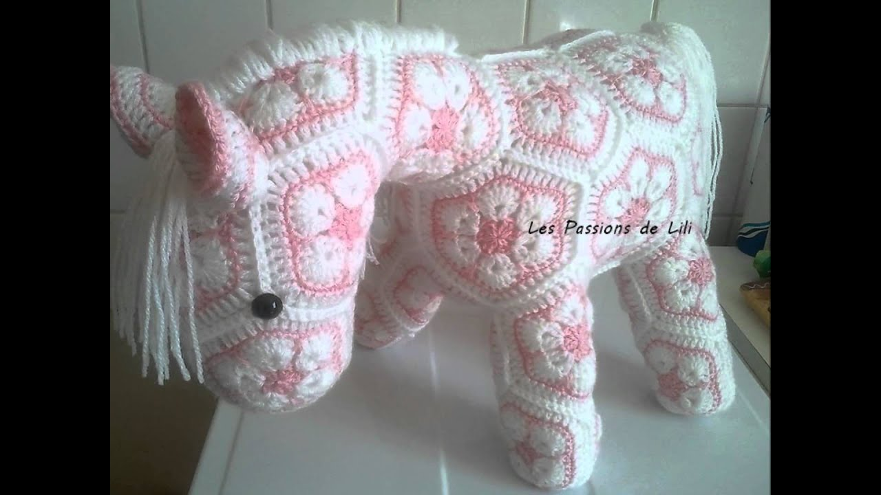 Mon Petit Poney (crochet) - YouTube