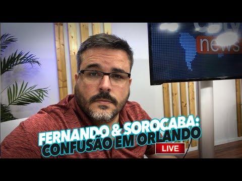 🔴LIVE🔴 A CONFUSÃO COM FERNANDO E SOROCABA - Paulo Sergio Live