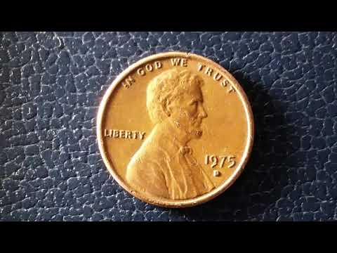 1975 D LINCOLN CENT : 4,505,275,000 MINTED