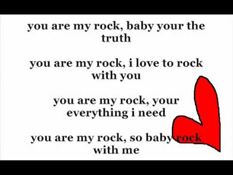 Beyonce - You Are My Rock Lyrics