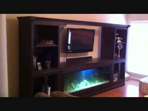 Fish Tank Entertainment Center Diy Fish Tank