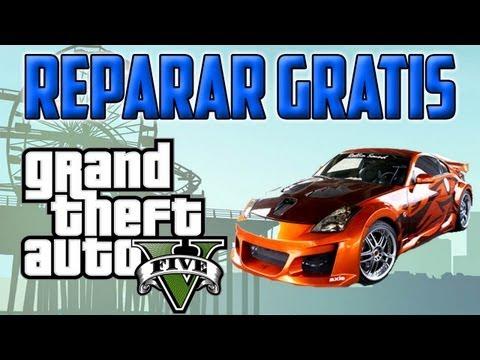 TRUCO GTA V || COMO REPARAR CUALQUIER VEHICULO AL 100% Y GRATIS || TRUCOS GTA 5 HD