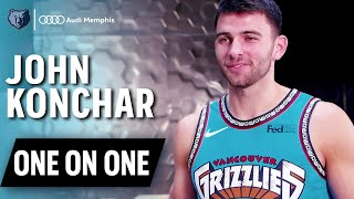 Grind city media's meghan triplett goes one on with two-way sg john konchar to talk about his love for the throwback gear and interesting instagram s...