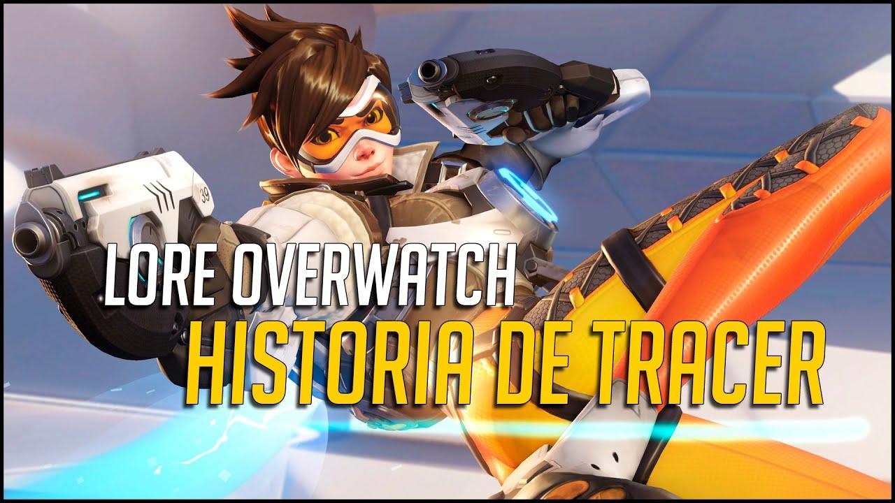 Overwatch Historia De Tracer En Castellano