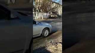 Обработка улиц Калуги рассолом