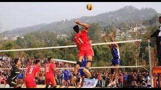 दाङ जिल्ला स्तरीय भलिबल प्रतियोगिता-२०७३ - Finale || Narayanpur Dang