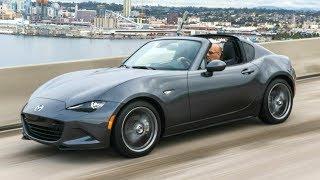 2018 Mazda MX-5 RF - Lighter, Smaller, Quicker and More Nimble Than Its Predecessor