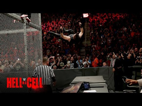 Shane McMahon sends Kevin Owens crashing onto the announce table: WWE Hell in a Cell 2017