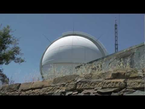 Automated Planet Finder Telescope at Lick Observatory, Mount Hamilton; California HD Video