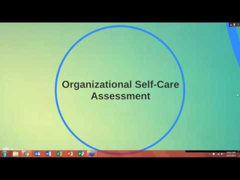 Self Care Series  Creating Healthy Organizational Cultures, Parts  2