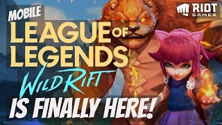 LEAGUE OF LEGENDS: WILD RIFT - NEW Mobile MOBA Game by Riot Games [EXTENDED TRAILER]