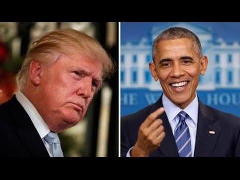 Is POTUS undermining President-elect Trump?