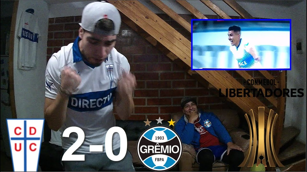 REACCION U.CATOLICA 2 VS GREMIO 0 | COPA LIBERTADORES | 16/09/2020 | 3 PUNTOS DE ORO