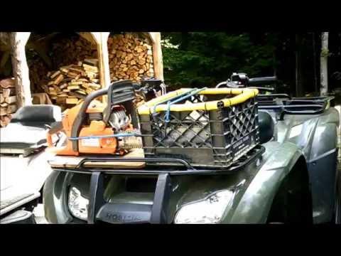 DIY ATV Logging -Self Reliance