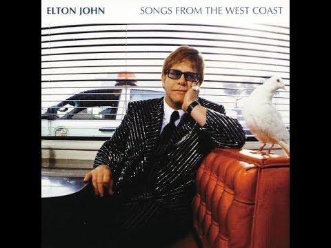Elton John - The Wasteland (2001) with Lyrics!