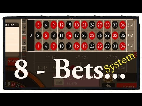 8 Bets System Roulette Winning Tricks For Online Roulette Casino Games
