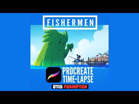 Procreate Time Lapse - Fishermen