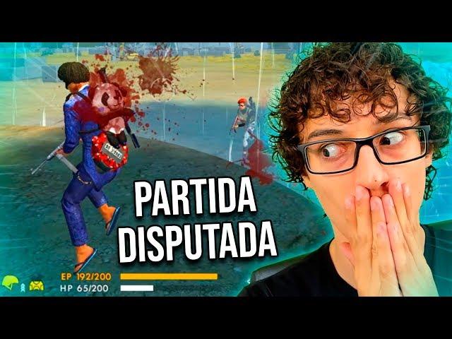 PARTIDA DISPUTADA SOLO RANQUEADO DIAMANTE 3 FREE FIRE!