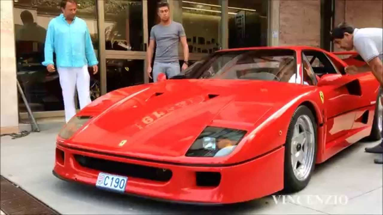 felipe massa driving a ferrari f40 youtube. Black Bedroom Furniture Sets. Home Design Ideas