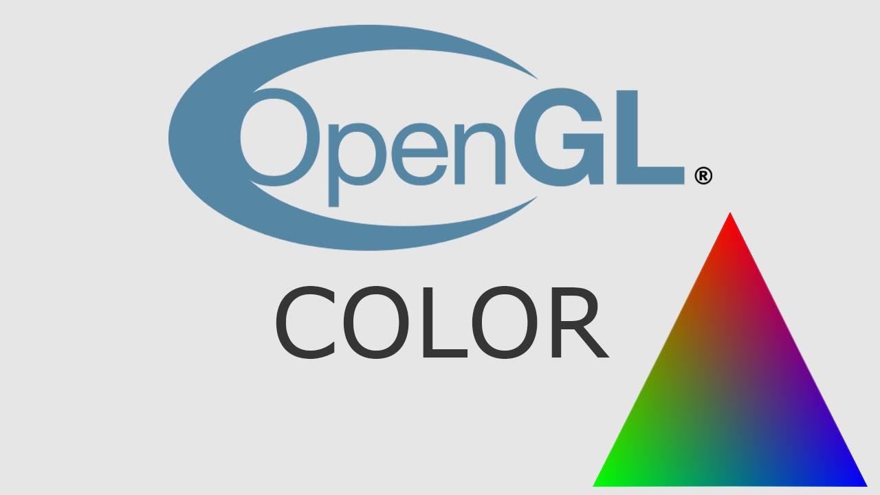 OpenGL Tutorial 24 - Color
