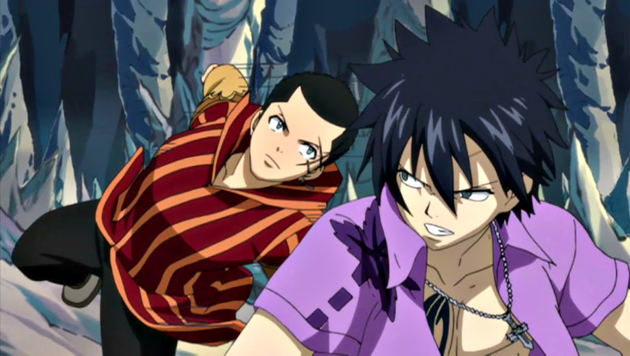 Gray And Loke Vs Mest And Wendy Fairy Tail Youtube