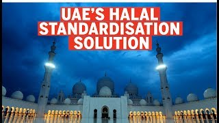 How is the UAE solving the halal industry's standardization problem?