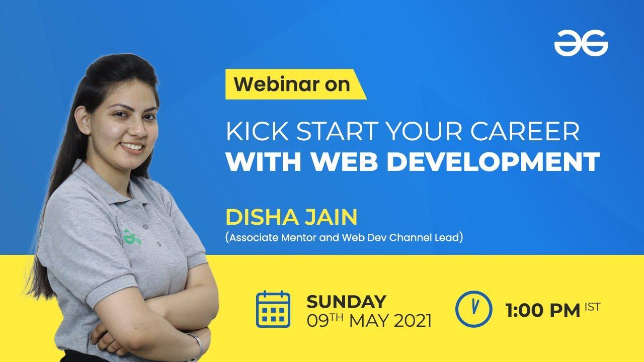 Kick Start Your Career With Web Development