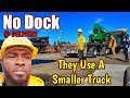 No Dock, Receiver Transfer Telehandler To Another Truck. Vlog #102