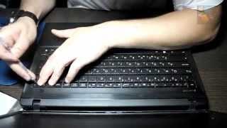 Разбор и чистка от пыли ноутбука Asus X55C(Если Ваш ноутбук сильно гудит, самопроизвольно выключается или греется корпус, то ему срочно необходима..., 2015-06-24T15:40:23.000Z)