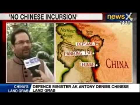 News X : AK Antony says, 'There is no Chinese Incursion in Ladakh'