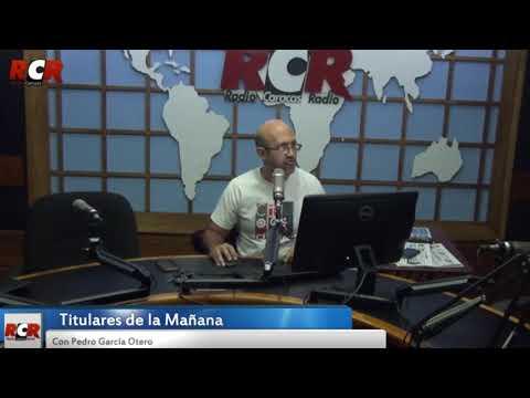 RCR750 - Titulares de la Mañana | Lunes 12/03/2018
