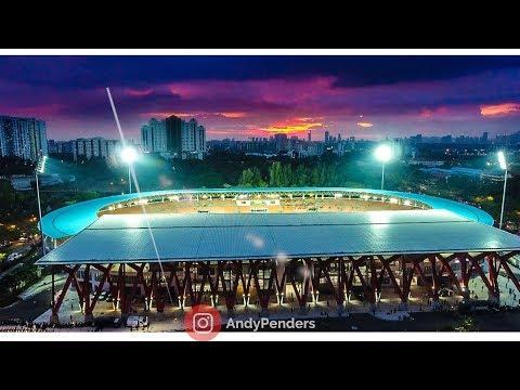 Stadium Bola Sepak Kuala Lumpur By Drone 2018 | Andy Penders