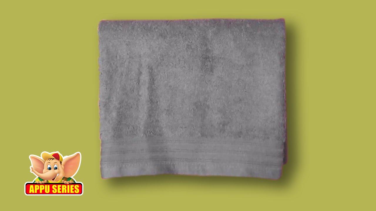 Towel Folding Basic Fold Youtube