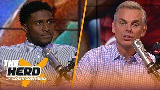 Reggie Bush weighs in on Michigan's loss to Wisconsin, Browns needing a sense of urgency | THE HERD