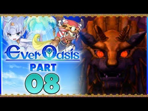 Ever Oasis - Part 8   Baastu Boss Battle! [New Nintendo 3DS Gameplay]