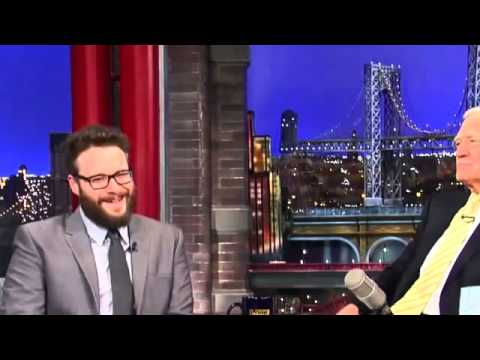 Seth Rogen on David Letterman Full Interview