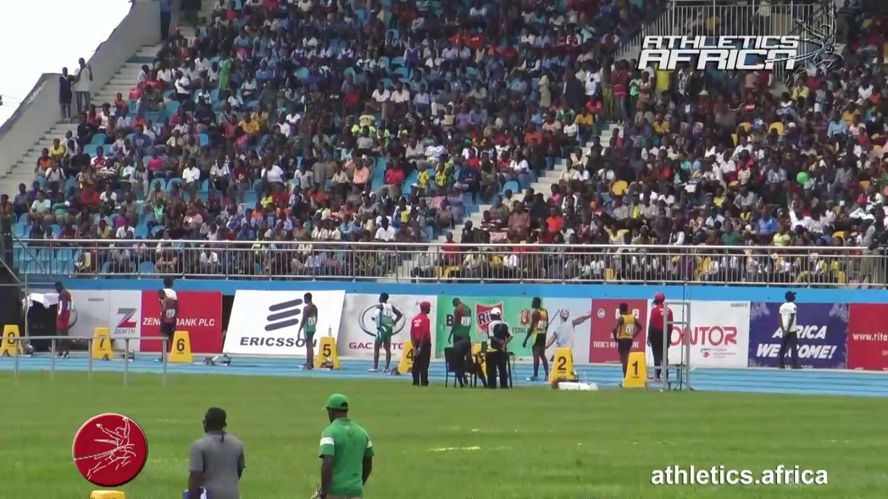 Highlights - Men's 200m Heat 2 - Asaba 2018 African ...