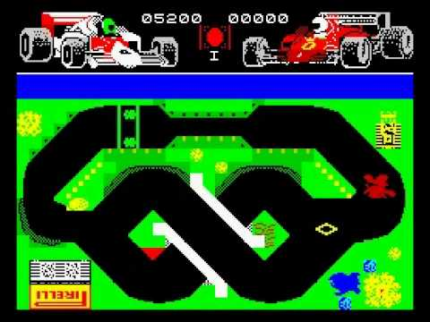 Grand Prix Simulator Walkthrough Zx Spectrum Youtube