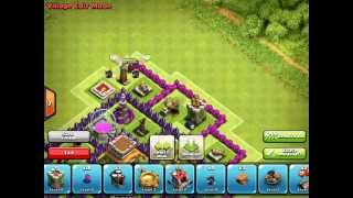 Clash Of Clans - Town Hall 8 Hybrid Base Speed Build