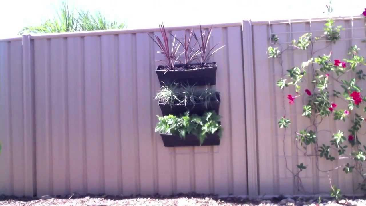 Big Green Leaf Vertical Garden Trellis Youtube