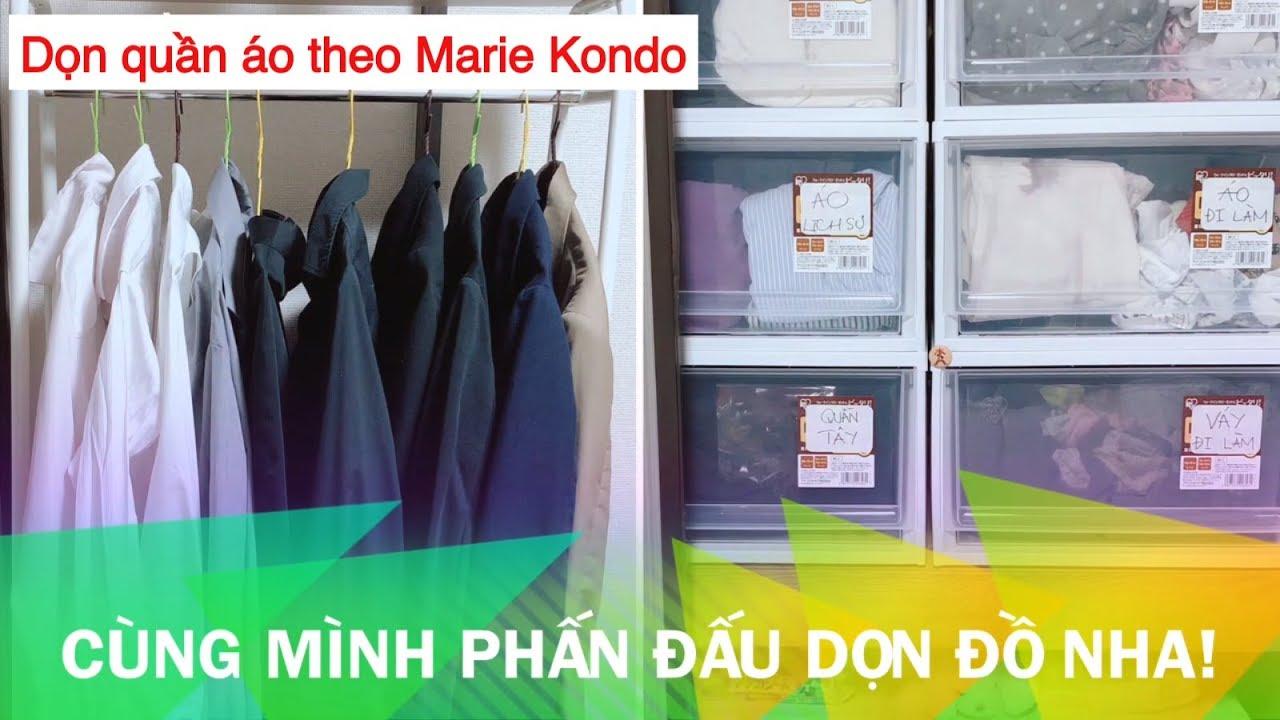 [JP viva] Dọn tủ đồ theo thánh nữ dọn nhà Marie Kondo