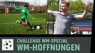 WM-Hoffnungen der DFB-Elf | WM 2018 | Fußball-Challenges mit Werner, Gnabry & Co. | Kickbox