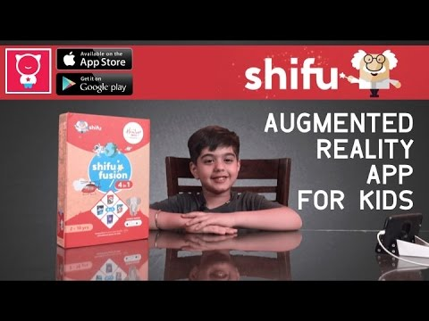 Shifu Fusion -  Augmented Reality App for Kids - Learn about Animals, Space, Jobs and Travelling