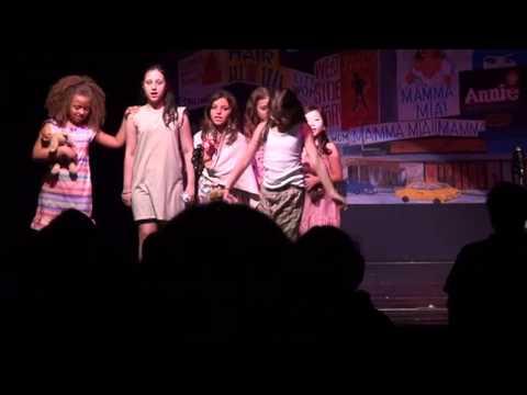 GCAC Musical Theater Camp Broadway performance