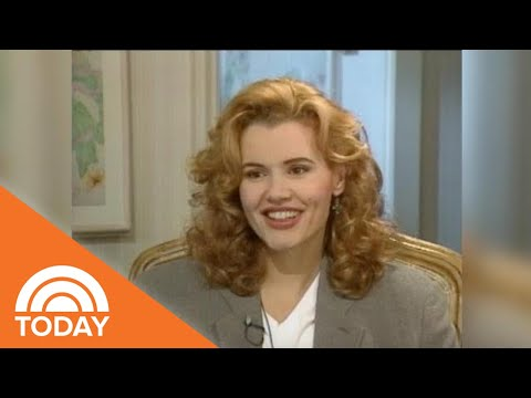 Geena Davis Reveals What Was The 'Most Fun' About Filming 'A League Of Their Own' In 1992  TODAY