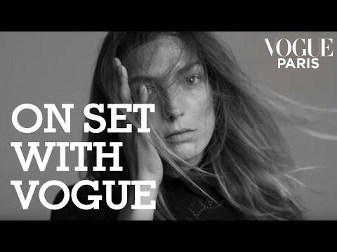 Inez & Vinoodh filment Daria Werbowy à Las Vegas pour Vogue Paris #4